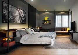 chambre design gris idée couleur chambre la chambre à coucher en gris