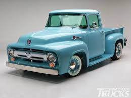 100 56 Ford Truck GTP Cool Wall 195319 F100