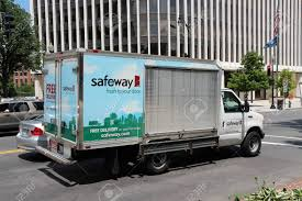 100 Truck Stores WASHINGTON USA JUNE 14 2013 Safeway Delivery In