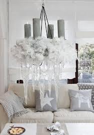 wohnzimmer deko grau weiß wohnzimmer weihnachtlich