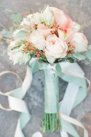 Coral Color Decorations For Wedding by Best 25 Mint Wedding Flowers Ideas On Pinterest Mint Rustic