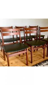 Teak Dining Chairs (70s) – Identification – Design Addict Forum Graystone Trestle Ding Room Set Four Ding Room Chairs In A Houndstooth Pattern Upholstery Mid Century Modern Teak Mcintosh Chairs 70s Lidia I Sixties Fniture Is Making Comeback With Surging Prices Of Extendable Table And 6 Teak Black Leatherette 1970s Boscov S Table Awesome Sets Harvey Norman Ireland Jayla Upholstered Chair Meredew Extending Cw11 Wheelock Retro Smoked Glass Bhaus Style Acocks Green West Midlands Gumtree Small Boy At Seventies Wooden