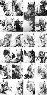 Super Rare Dark Knight III Jim Lee 5K 15000 Original Cover Sketches Click The Pic And Find Out More