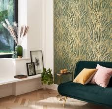 tapete crystalline grün