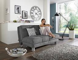 schickes sofa mit schlaffunktion perfekt für kleine räume