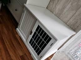 hundebox holz wohnzimmer