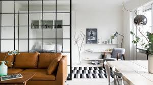 cloison chambre salon aménager une chambre dans un salon idées de séparations côté