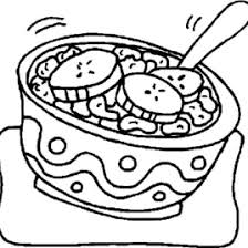 Meals And Food Colouring Pages Coloring Prints In