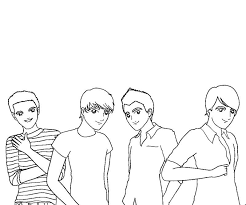 Collection Of Solutions Big Time Rush Coloring Pages In Free Download