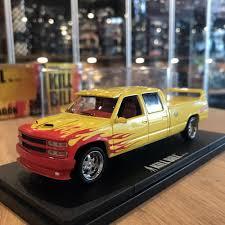 GreenLight 1/43 Chevrolet Silverado Kill Bill Movie