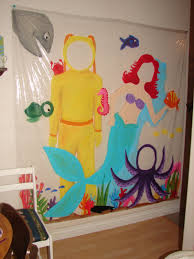 sytyc Painted Shower curtain A girl and a glue gun
