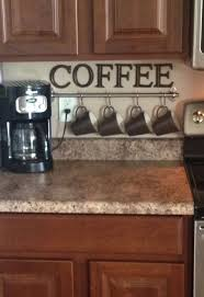 Inspiring Idea Kitchen Theme Ideas 20 Coffee Station On Small Countertop Space More