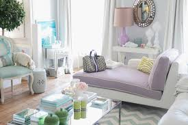 Purple Grey And Turquoise Living Room by A New Look For Pastel Colors Knick Knacker