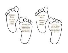 The Foot Wasching Word Seach Puzzle