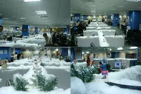 Cubicle Decoration Ideas For Christmas by Bright Inspiration Winter Wonderland Office Decorating Ideas Fine