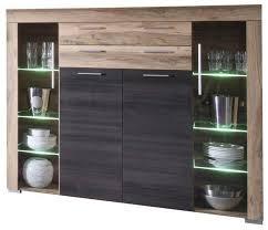 newroom highboard alica kommode nussbaum modern landhaus schrank sideboard anrichte wohnzimmer kaufen otto