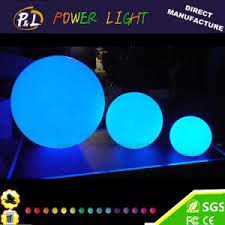 China Outdoor Cordless Decoration Waterproof LED Orbs Light