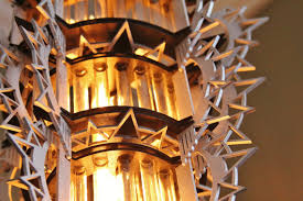 Laser Cut Lamp Kit by Art Deco Style 3d Puzzle Hanging Lamp Kit Test Tubes And