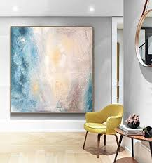 Abstract Art Painting Original Office Decor Home Dining Room
