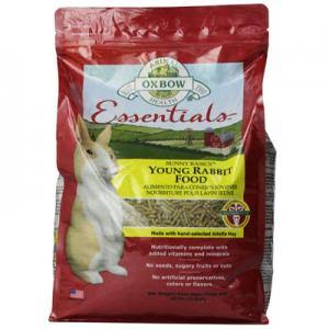 Oxbow Animal Health Bunny Basics Young Rabbit Food