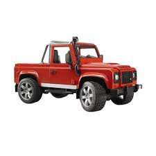 Jual Bruder Toys 2591 Land Rover Defender Pick Up Mainan Anak Online ...