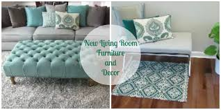 New Living Room Furniture and Decor