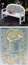 garden seat plans outdoor furniture plans and projects