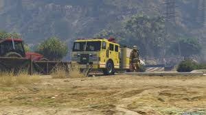 100 Gta 4 Fire Truck Mod Los Angeles For GTA 5