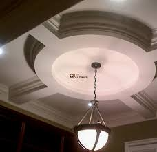 Split Design Ceiling Medallion by Circle Hallway Coffered Ceiling Design Model Home U2013 King City