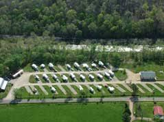 Big Creek RV Park Aerial View