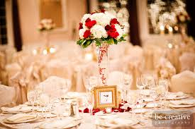 Collections Of Red White Gold Wedding Ideas