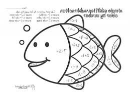Top Coloring Pages For Math 6