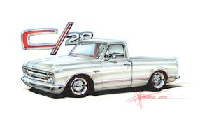 100 Chip Foose Truck 1967 Chevy C28 Official Home Of Design Inc