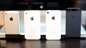 iPhone 5 vs iPhone 4S vs iPhone 3GS vs iPhone design evolution