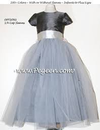 231 best Gray Flower Girl Dresses images on Pinterest