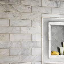 100 Marble Flooring Design MSI 4 X 12 Honed Tile In Arabescato Carrara Reviews Wayfair