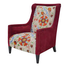 Red Floral Suzani High Back Global Bazaar Arm Chair   Kathy Kuo Home Suzani Fabric By The Yard Prefab Homes Bobbin Chair Best Chairs Gallery Armchair Cup Holder Bloggertesinfo Exotic Floral Anthropologie Amazing Kitchens Africa Rising Of Cape Town Design 2015 Town Capes Exuberant Color My Obt Perfection Bold Colors Unique Print Loving This Sitting Chair Zebra Print Round Leopard Pknmieszkaj Nasza Ciana Z Cegie 3 A W Centralnym Miejscu 181 Best Suzani Images On Pinterest Home Decor Workshop And Patchwork Parker Knoll In Designers Guild Ebay Made
