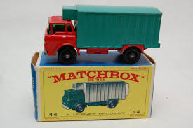 No.44 GMC Refrigerator Truck & Original Box By Matchbox Lesney ...