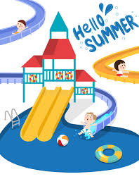 Download Swimming Pool Stock Vector Illustration Of Summer Cartoon