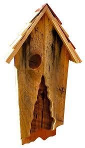 Vintage Bat House Rustic Birdhouses