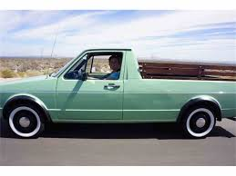 √ Vw Rabbit Truck For Sale, 1981 Volkswagen Rabbit Pickup LX