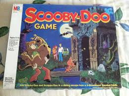 1980 Scooby Doo Board Game