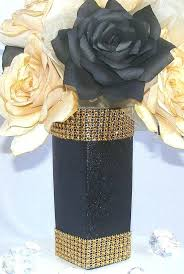 Graduation Table Decor Ideas by Black And Gold Wedding Decor Ideas Graduation Centerpiece
