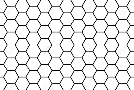 Abstract Black And White Honey b Seamless Pattern Royalty Free