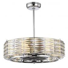 Kitchen Ceiling Fans With Bright Lights by Decor Caged Ceiling Fan With Ceiling Fan Airflow Also Lowes
