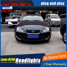 auto part style led l for lexus is250 led headlights 2006