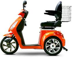 EMS 36 3 Wheel Electric Mobility Scooter Bike 500 Watt 48 Volt