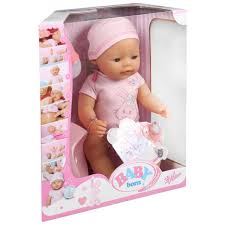 Baby Born Interactive Doll BIG W