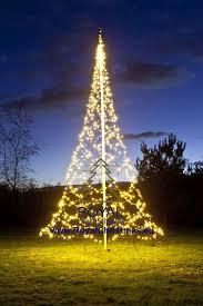 Flagpole Christmas Tree by Flagpole Christmas Tree Lighting 6 M 20 Ft