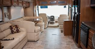 Luxury Motorhome Living Room